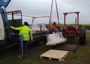 Moving cells with the tractor
