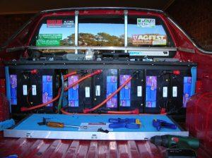 Electric Brumby Lead Acid Rear Battery Box